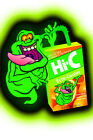 Ecto Cooler Slimer FRIDGE MAGNET (4x6 inches) 1980s 80s Ghostbusters nostalgia