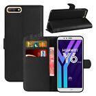 For Huawei Y6 2018 Phone Case Luxury Leather Magnetic Flip Wallet Stand Cover