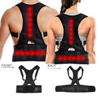 Kyпить Magnetic Therapy Posture Corrector Body Back Pain Brace Shoulder Support Belt US на еВаy.соm