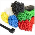 Внешний вид - 100 x Cable Ties Tie Wraps Nylon Zip Ties Strong Extra Long All Sizes & Colours