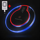 New Qi Wireless Fast Charger Dock Charging Pad Receiver For iPhone 5 6 6S 7 Plus
