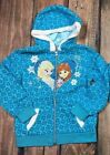 Внешний вид - Disney Frozen Olafs Adventure Blue Zip Hoodie Anna Elsa Fall Jacket 6 6X