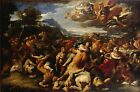 A4+ Size Print Giordano Luca Battle Between Lapiths & Centaurs #jwnh1775-1218