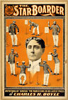 Photo Print Vintage Poster: Stage Theatre Flyer The Star Boarder Charles Boyle 0