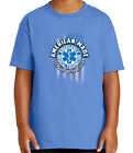 EMT Paramedic Kid's T-shirt EMS Service Before Self Tee for Youth - 2068C