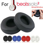 For Beats 2Pc Replacement Ear Pads Cushion Solo2.0 3.0 Wireless Wired Headphones