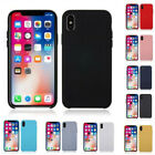 Soft Case For iPhone XS MAX XR X 6/7/8 Liquid Silicone Rubber Slim Stylish Cover