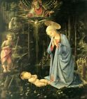 Adoration In Forest Filippo Lippi 1459-Art Photo/Poster Reproduction Gift Ide