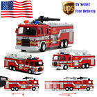 Toys for Kids Boys Fire Truck Engine Pull Back Friction Toy Emergency Vehicles