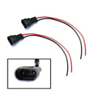 1Pair Universal 9006/9005 HB4 Fog Light Male Pre-wired Connector Plug Harness