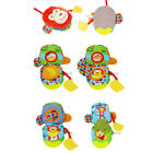 Baby Cloth Books Hand Puppet Intelligence Toy Teether Animals Plush Doll Lovely