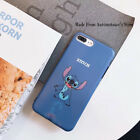 Stitch Disney Cartoon Matte IMD Phone Case Cover For IPhone XSMAX XR X 8/7/6Plus