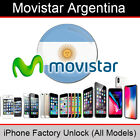 Movistar Argentina iPhone Factory Unlocking Service (All Models Supported)