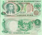Philippines P153a, 5 Piso, Katipunan org. (Blood Pact) UNC $5 Cat Val, see UV