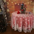 Lace Snowflake Table Cloths Modern Simple Design Home Weddin
