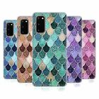 HEAD CASE DESIGNS MERMAID SCALES PATTERNS SOFT GEL CASE FOR SAMSUNG PHONES 1