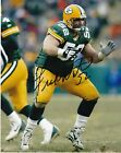 FRANK WINTERS  GREEN BAY PACKERS   ACTION SIGNED 8x10