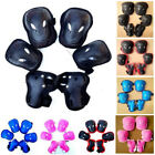 Roller Skating Protective Knee Elbow Wrist Sports Gear Protectors Pads For Kids image