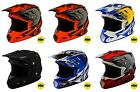 2019 Fly Racing Toxin Resin Helmet Motocross UTV ATV Off Road