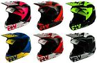 2019 Fly Racing Elite Vigilant Helmet Motocross UTV ATV Off Road