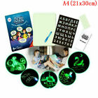 Light Drawing Board Sketch Pad Doodle Writing Craft Art for Children Kid Gift US