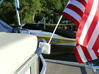Pontoon+Boat+Party+Barge+Rail+Flag+Pole+Mount+%2F+Holder%2C+Made+in+the+US+REMOVABLE