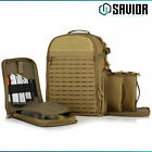 Savior SEMA Gun Range Tactical Pistol Compartment Backpack Shooting Hunting BagCases - 73938
