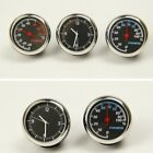 Mini Car Watch Pointer Clock Humidity Hygrometer Thermometer Car Supplies Decor