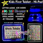 LED Tablet First Year Kids Early Educational Toy Game Pad Xmas Gift for Girl Boy