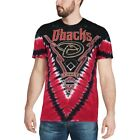 Arizona Diamondbacks Black/Red V Tie-Dye T-Shirt on Ebay