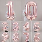 "Внешний вид - Rose Gold 40"" Giant Foil Number Helium Large Baloon Birthday Party Wedding Decor"