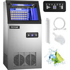 Commercial Ice Maker Ice Machine 90/110/132/150/265lbs Ice Cube Machine Steel photo