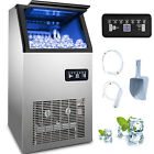 Commercial Stainless Steel Ice Maker Ice Machine 90/110/132/150/265/286/441 lbs photo