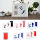 Внешний вид - Baby Newborn Handprint Footprint Imprint Clean Touch Ink Pad Photo Frame Kit Hot