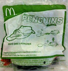 McDonald Happy Meal Toy:2015 NADAGASCAR PENGUINS RICO DISC LAUNCHed unopened new