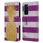 OFFICIAL PAUL BRENT TROPICAL LEATHER BOOK WALLET CASE COVER FOR HUAWEI PHONES