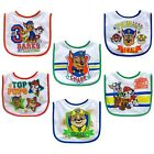 Neat Solutions Paw Patrol 2 Layer Water Resistant Infant Feeder Bib Set, 6 Count