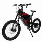 Electric Motorcycle Bicycle 48V-72V 1500W Power Full Suspension Mountain eBike