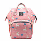 New Large Capacity Mummy Unicorn Travel Backpack Maternity Nappy Baby Diaper Bag
