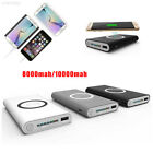 8C4A QI Wireless Mobile Power Bank Charging Pad Materials Set Shell Interface