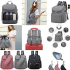 Large Capacity Mommy Baby Bag Nappy Changing Backpack with USB Charging Port