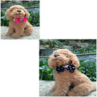 Bowtie For Dogs Adjustable Cute Grid Suit Necktie For Pet Small Dogs Teddy Bear