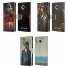 OFFICIAL LONELY DOG PORTRAITS LEATHER BOOK WALLET CASE COVER FOR MOTOROLA PHONES