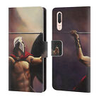 OFFICIAL GENO PEOPLES ART LIFE LEATHER BOOK WALLET CASE COVER FOR HUAWEI PHONES