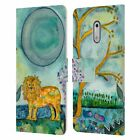 OFFICIAL WYANNE ANIMALS 2 LEATHER BOOK WALLET CASE FOR MICROSOFT NOKIA PHONES