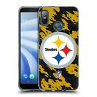 OFFICIAL NFL PITTSBURGH STEELERS LOGO SOFT GEL CASE FOR HTC PHONES 1