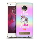 OFFICIAL emoji® PASTEL UNICORNS HARD BACK CASE FOR MOTOROLA PHONES 1