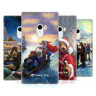 OFFICIAL LONELY DOG CHRISTMAS HARD BACK CASE FOR XIAOMI PHONES