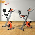 Folding Exercise Bike Cycling Training Machine Fitness Workout Home Gym Body Fit