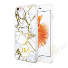 Personalised Marble Any Initial Phone Case Cover For Various Mobile Phones 55-5